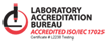 LAB accredited 17025
