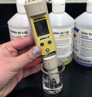 Ph Level Determine The Sample Acidity Or Alkalinity